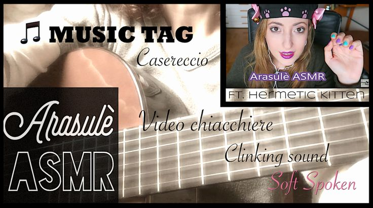 Kickstart your day with a good video! ⚡️VLOG MUSIC TAG 🎵 Domande e risposte 🎵 Video chiacchiere 🎵 ASMR I...  https://youtube.com/watch?v=sjAxmW6ankE