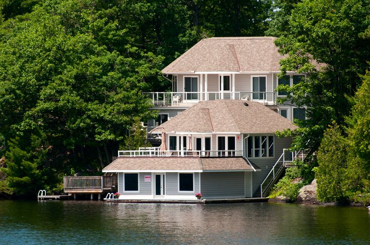 88 best lake houses images on pinterest dream houses for Boat garage on water