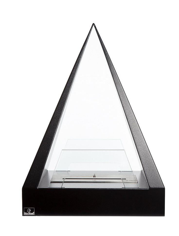 What Is Ethanol >> Bio-Blaze Keops - Pyramid-Shaped Free Standing Ethanol Fireplace (BB-KE) | Ethanol fireplace ...