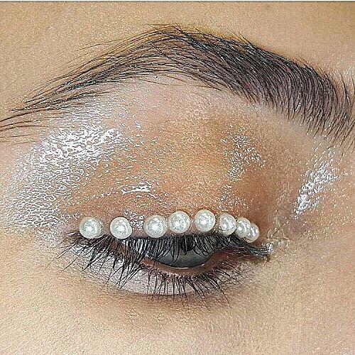 PEARLS || Make up goals | Source unknown - please tag! | #makeup #makeupgoals  #Regram via @k.y.h.a