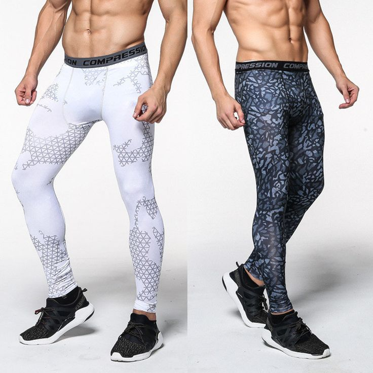 2016 New men camouflage/compression trousers/Leggings Running sports/Gym male trousers/capris of fitness/pants of quick-drying