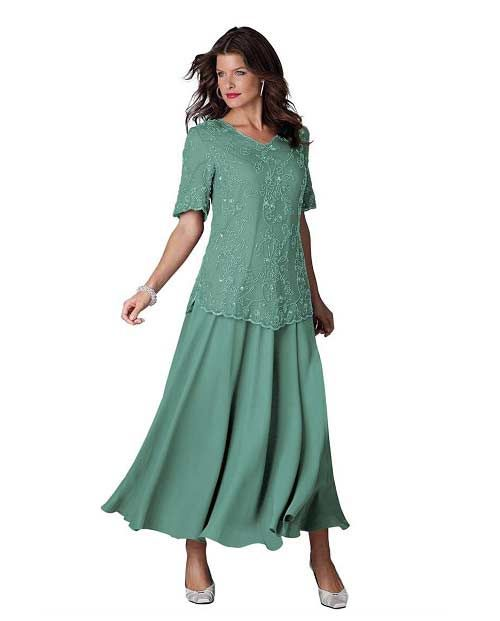 Jade plus size mother of the groom dresses - Mother of the bride dresses under $50 dollars - cute long 1x, 2x, 3x, 4x, 5x plus