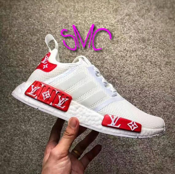 Adidas NMD R1 PK Multicolor Rainbow Colour Static BW1126 10.5
