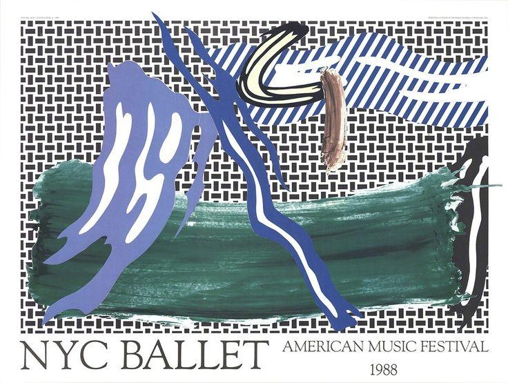 Roy Lichtenstein, NYC Ballet American Music Festival, 1988, ArtWise