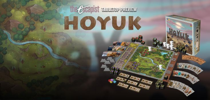 Hoyuk Preview - Tile Placement Made New http://www.escapistmagazine.com/articles/view/tabletop/11113-Hoyuk-Preview-Tile-Placement-Made-New
