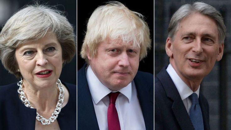 Boris Johnson made foreign secretary by Theresa May - BBC News