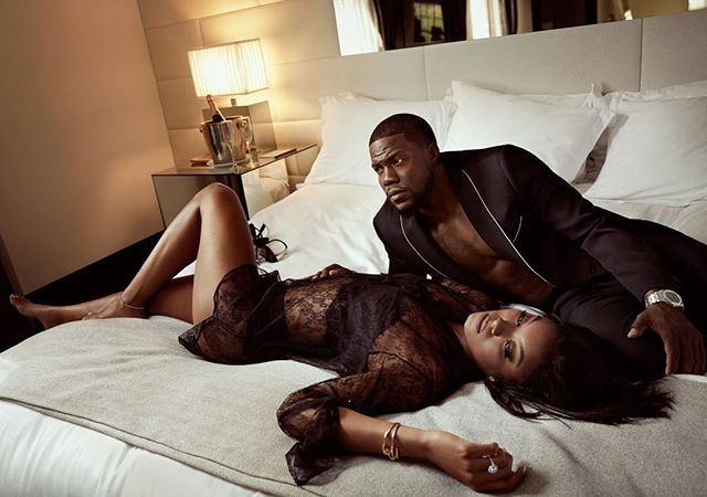 Well Damn Mr & Mrs Hart..... Kevin Hart and his wife Eniko Parrish