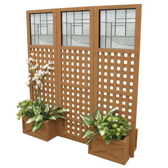 14 best mid century modern screen outdoor privacy screen for Wood patio privacy screens