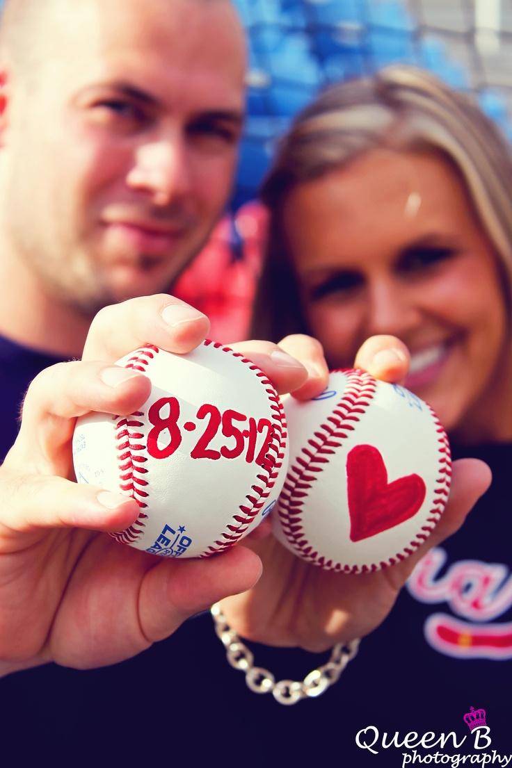 baseball engagement shoot