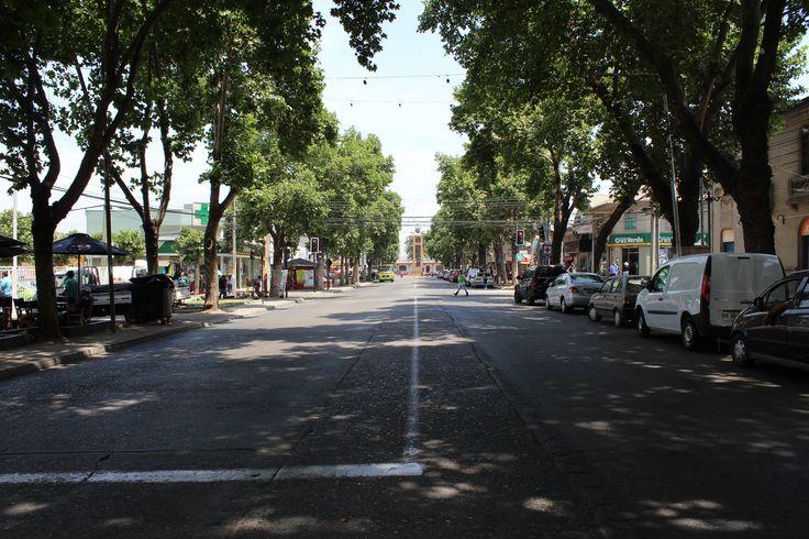Avenida Urmeneta, San Francisco de Limache, Región de Valparaíso, Chile.