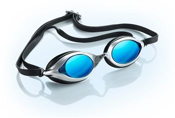 Sable WaterOptics swim goggles - available with blue, yellow, green, or pink lenses.  Available at Foot Tools.