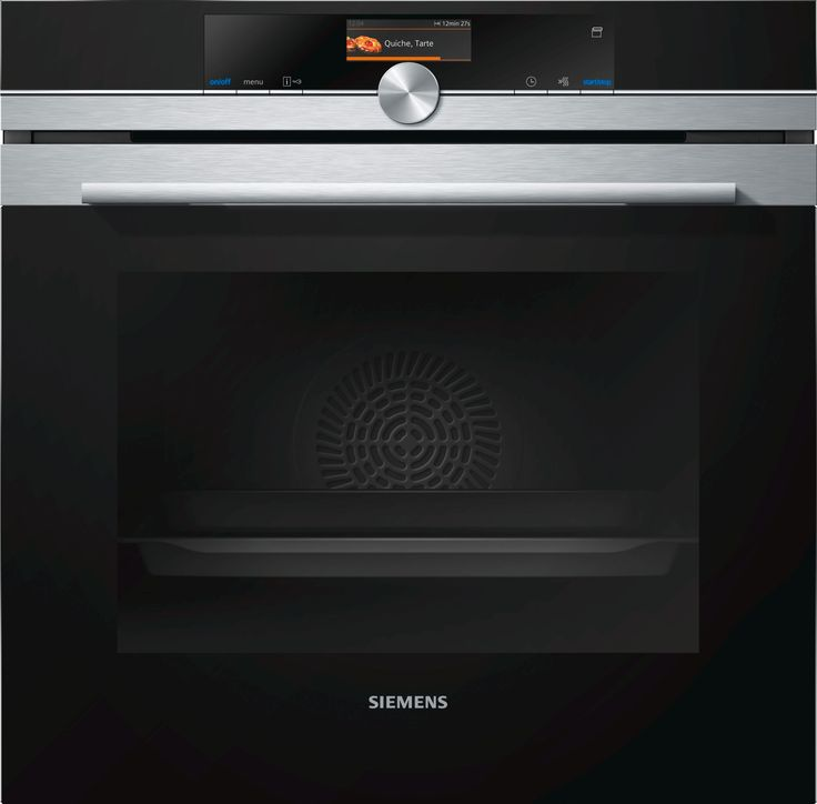 Siemens Pyrolytic Oven - HR676G8S2A - RRP $3899  The oven with an innovative pulseSteam function for optimum preparation of a variety of dishes. pulseSteam TFT Touchdisplay: user-friendly menu navigation with good display features. roastingSensor Plus: simply reliable roasting. activeClean: the automatic system for effortless cleaning.