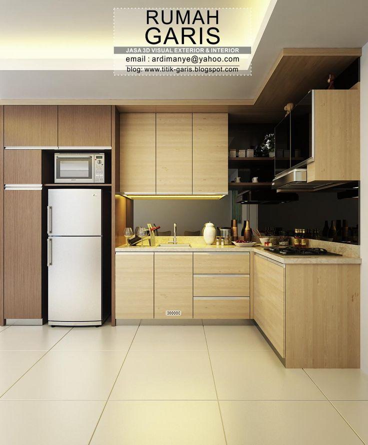 jasa desain kitchen set untuk dapur mungil