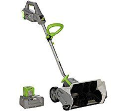 Earthwise Snow Shovel Snow Blower 14 Inch – 40 Volt Battery Operated