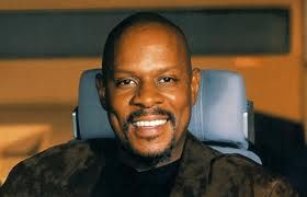 Avery Brooks. Because Captain Sisko was the most awesome Star Trek captain, ever. (Also, because after watching Shatner's documentary, I felt he was the only one still actively pursuing legit artistry.)