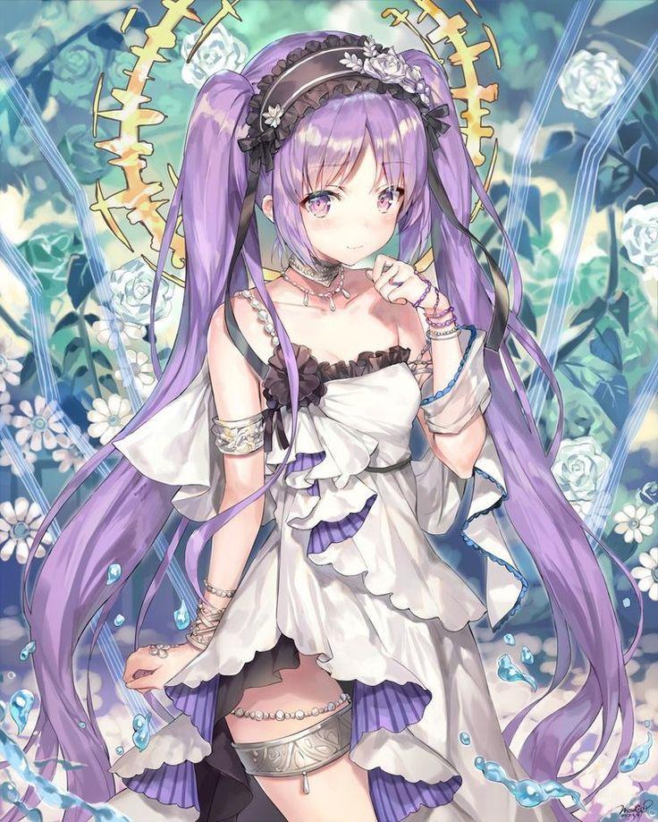 Ảnh Anime đẹp ( 1 ) Anime, Manga anime và Tóc tím
