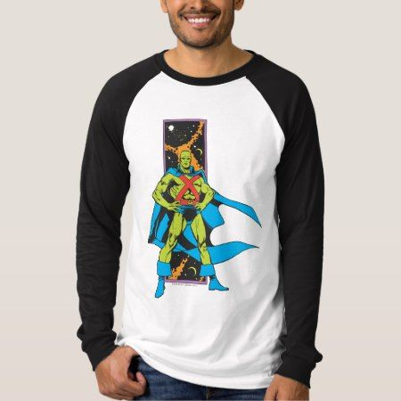 Martian Manhunter & Space Backdrop T-Shirt - tap to personalize and get yours