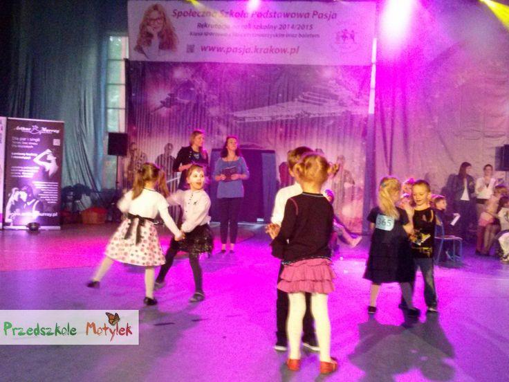 """""""Olimpijski Turniej Tańca Pasja 2014 Gwiezdne Wojny"""" -  Niepubliczne Przedszkole Motylek z Krakowa"""