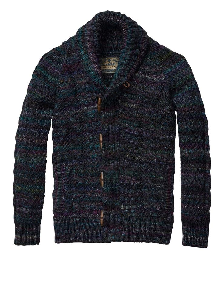 structured cable cardigan mens clothing pullovers at. Black Bedroom Furniture Sets. Home Design Ideas
