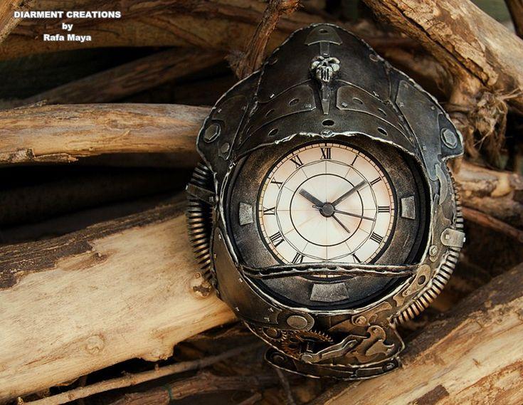 Stempunk Metal Clock - Diarment