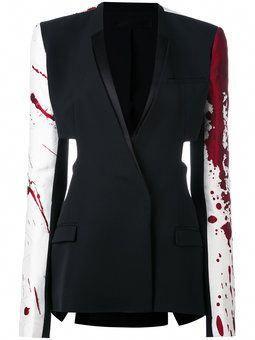 Patchwork jacket #womensfashionminimalistjackets