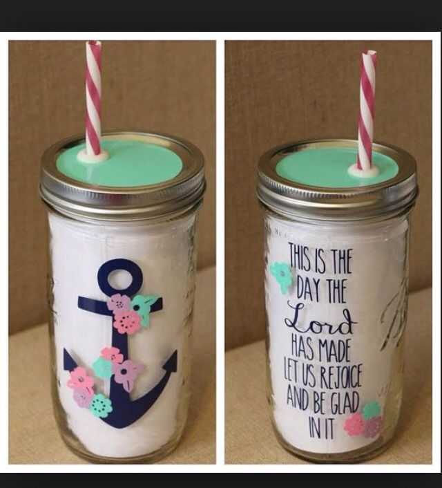 Inspiration to use all those jars I have!!