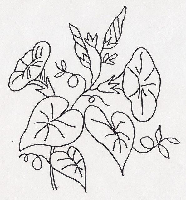 Morning Glory Vine Stencils : Best images about trellis quilt on pinterest twists