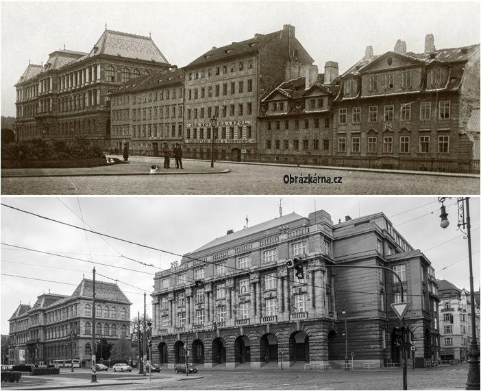 Umelecko prumyslove muzeum / Sanytrova ulice
