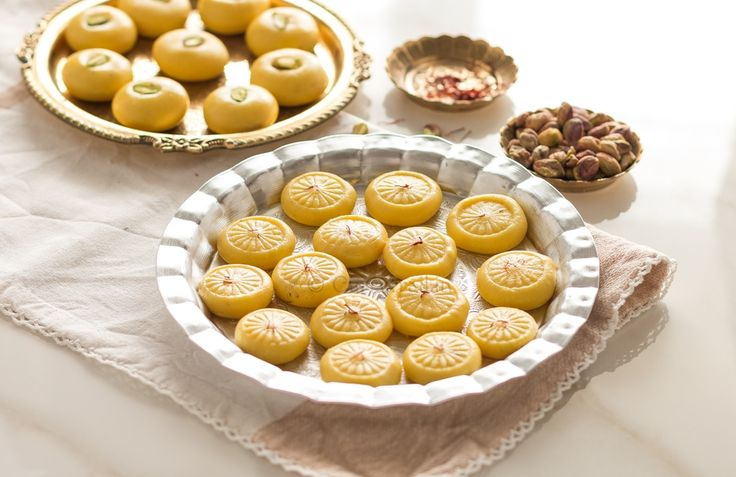 This delicious peda infused with the kesar , shines out like a bright ray of sunshine on a dull rainy day! Pop one in to experience what we're talking about!