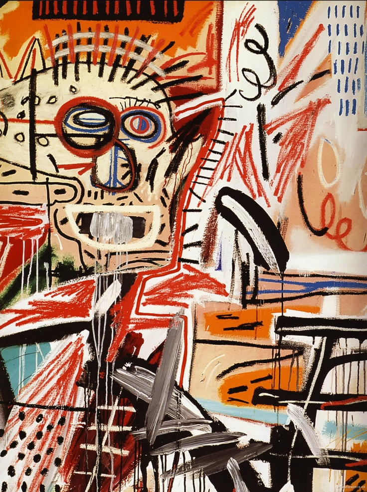 Jean Michel Basquiat. -I remember when I doubted he was truly an artist. Then I realized he was. Then I realized he wasn't.