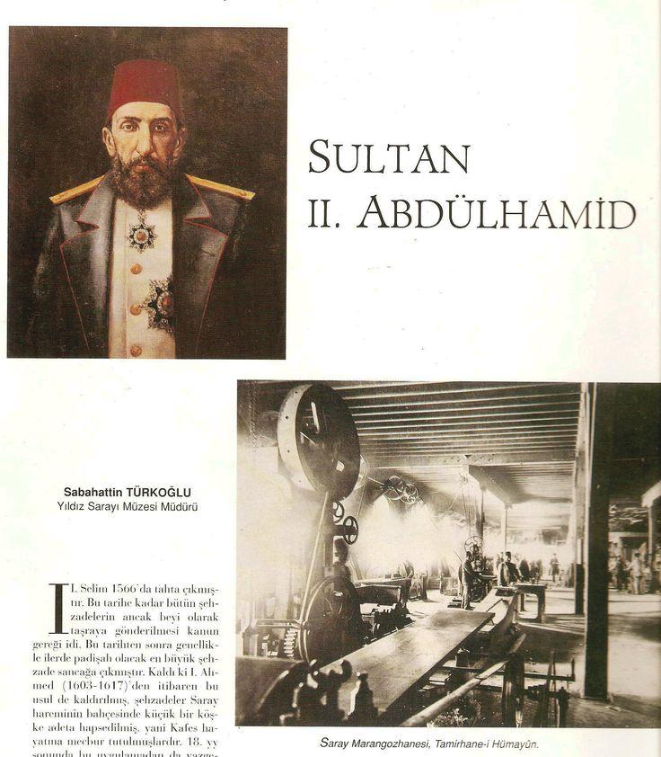 Saray Marangozhanesi Sultan 2.Abdühamid Han