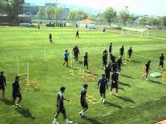Entrenamiento de Fuerza Explosiva en Club de Fútbol Pachuca. Agustin Lleida #futbolentrenamiento