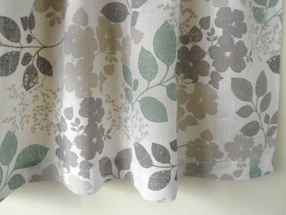 Kitchen Curtains White Gray Cafe Curtains Kitchen Valance