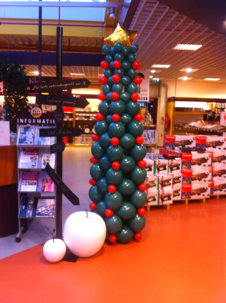 Kerstboompje bij Hanos