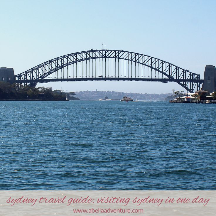 Sydney Travel Guide: Visiting Sydney in One Day | A Bella Adventure | http://www.abellaadventure.com/travel/sydney-travel-guide-visiting-sydney/