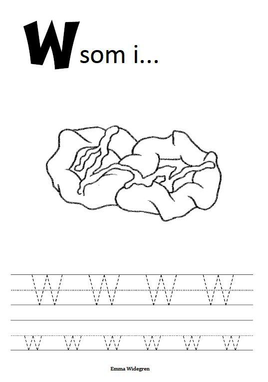 (2015-01) Skriv W w