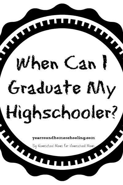 116 best teens homeschooling images on pinterest high schools trisha answers the question when can i graduate my homeschooled high schooler fandeluxe Gallery
