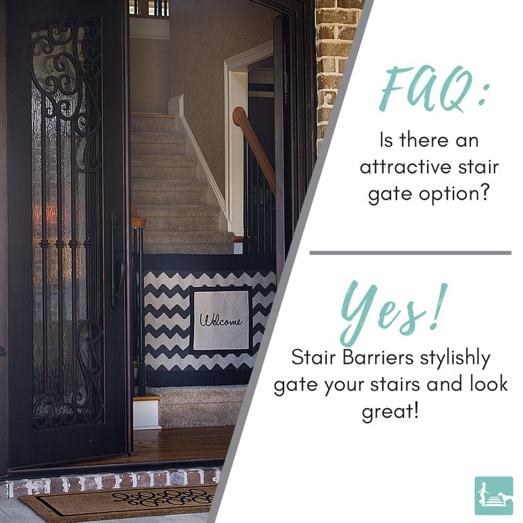 Finally You Don T Have To Sacrifice Style For Safety Our Stair Gates Fit In With Your Home Decor Babysafetyga Fabric Stair Gate Baby Safety Gate Baby Gates