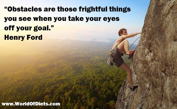 Obstacles are those frightful things you see when you take your eyes off your goal. - Henry Ford http://www.JenThoden.com
