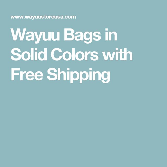 Wayuu Bags in Solid Colors with Free Shipping
