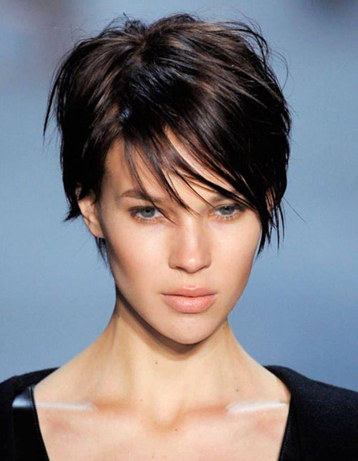 Coiffure cheveux courts hiver 2015 - Les plus belles coupes courtes de Pinterest
