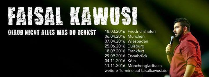 Events,#Luxemburg,#SAAR,#Saarland,#Veranstaltungen FAISAl KAWUSI – Batschkapp [18.09.] - http://sound.#saar.city/?p=26784