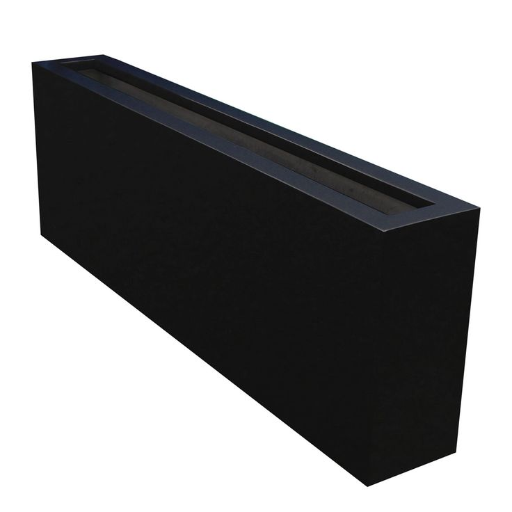 The narrow Camoux rectangular planter box provides a slender and contemporary look to any space. Get one at a great discount and it ships for free!