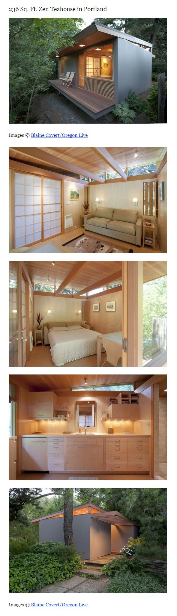 236 Sq. Ft. Zen Teahouse in Portland Read more at http://tinyhousetalk.com/236-sq-ft-zen-teahouse-in-portland/#WshEbWrCOfitr5GY.99