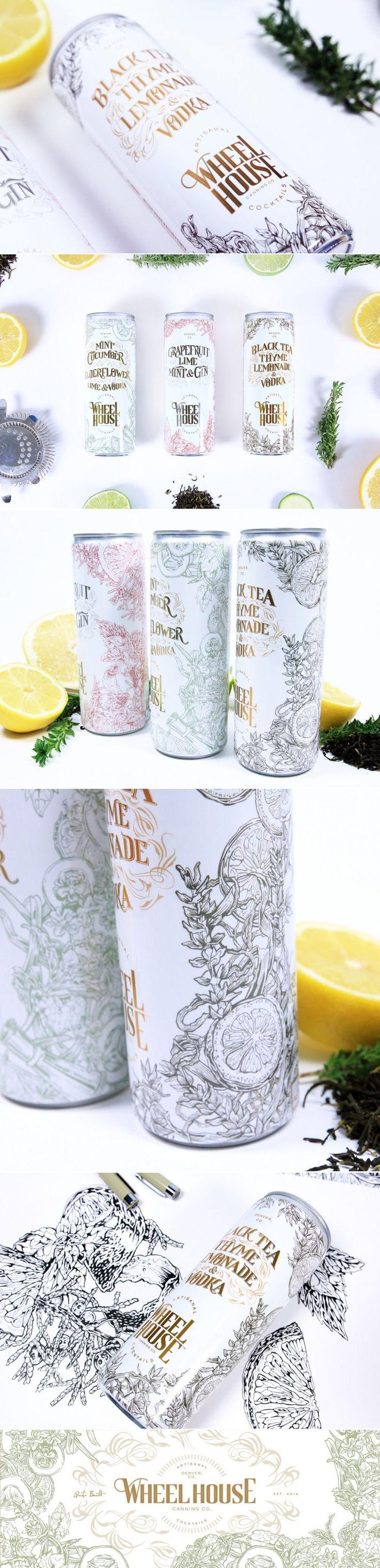 Wheelhouse Makes Canned Cocktails Look So Elegant — The Dieline - Branding & Packaging Design