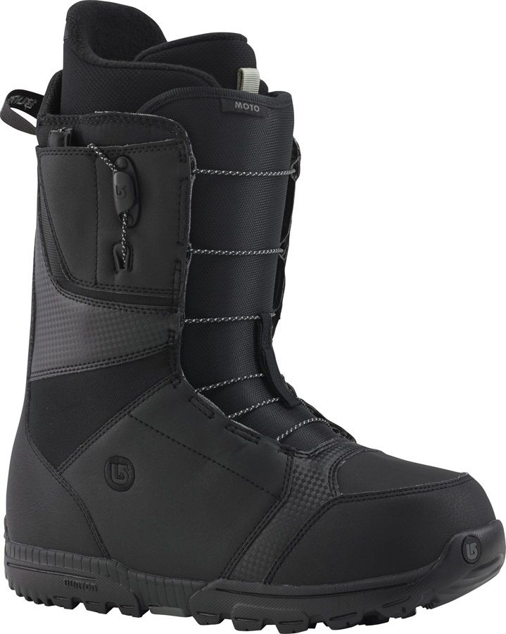 Burton MOTO Men's Snowboard Boots, UK 7, Black, 2015