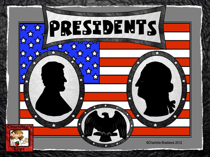 Free United States Clip art.  Great for Presidents Day from Charlotte's Clips