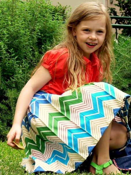 Beyond the Basics - a tutorial from Sew Together. Makes some Chevron and Make a Skirt