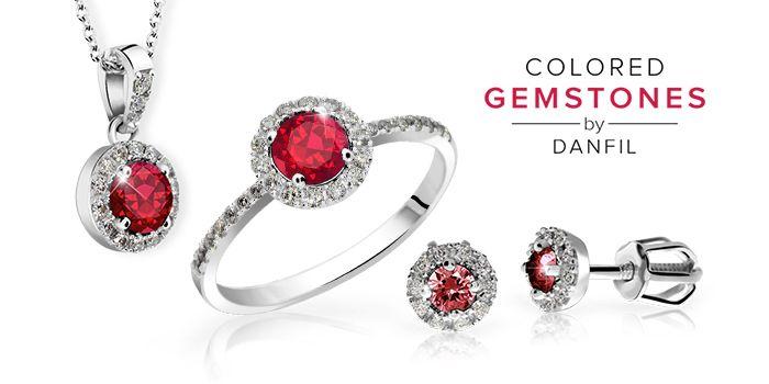 Set of jewelry with Rubies and Diamonds by Danfil http://www.brilianty.cz/danfil-diamonds/colored-gemstones/sperky-s-rubiny/