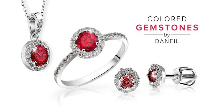 Set of jewelry with Rubies and Diamonds by Danfil http://www.brilianty.cz/danfil-diamonds/colored-gemstones/sperky-s-rubiny/